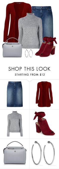 """""""Untitled #1537"""" by gallant81 ❤ liked on Polyvore featuring Uniqlo, WearAll, Dondup, Kristin Cavallari, Fendi and Jennifer Fisher"""