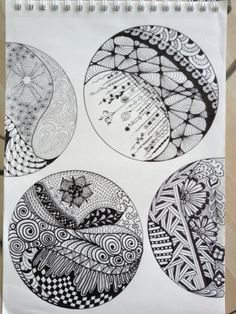 9-zentangle inspired art by JulianaaXOXO