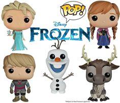 Frozen Disney Pop! Vinyl Figures