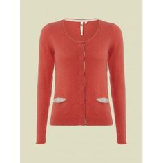 White Stuff Womens Wooly Cardi in Hot Coral