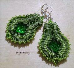 Dorothy Creations by Dorota Mroz: ORECCHINI DI SOUTACHE