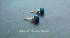 A Hint of Blue by Rebecca Davies on Etsy
