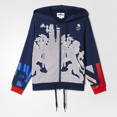 adidas Team GB Village Wear Hoodie in the new adidas specialty sports online shop. Find more Sweatshirts by adidas online • Fast Delivery…