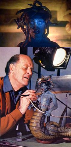 Ray Harryhausen & Medusa, Clash of the Titans (1981)