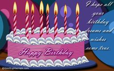 birthday greetings | Happy Birthday Wishes, Graphics, Birthday Scraps & Images for Orkut ...