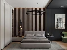 Inspirational ideas about Interior, Interior Design and Home Decorating Style for Living Room, Bedroom, Kitchen and the entire home. Curated selection of home decor products. Master Bedroom Interior, Bedroom Bed Design, Modern Bedroom Design, Home Decor Bedroom, Interior Design Living Room, Bedroom Wall, Suites, Trendy Bedroom, Luxurious Bedrooms