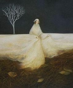 Winter Fairy by Alla Tsank