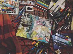 #artofinstagram #artistsoninstagram #texasartist #pittura #contemporarypainting #artiste #contemporaryartist #artnews #artcollector #artfair #illustration #painting #paint #artbrut #abstractpainting #abstractart #art #culture #universel #election #illustrate #frechart#girondin#anelygrd #beauvais #haiti #haitienne #anelygrd