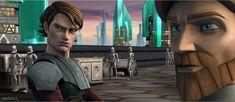 slowly crying my heart out about the Star Wars news of Ani, toooooo late. I've already begun Anakin Obi Wan, Anakin Vader, Anakin Skywalker, Sci Fi Tv Shows, War Image, Set Me Free, Clone Wars, Star Wars, Stars