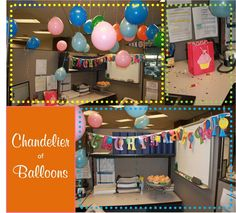 Happy B-day! Cubicle Design, Work Cubicle, Cubicle Ideas, Birthday Cupcakes, 30th Birthday, Birthday Ideas, Happy B Day, Little Boxes, Birthday Decorations