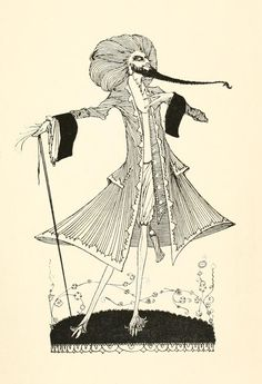 The Fairy Tales of Perrault illustrated by Harry Clarke (1922)
