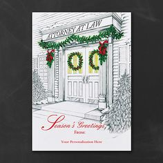 Attorney's Office - Lawyer Christmas Holiday Cards Personalized Custom Printed http://partyblockinvitations.occasions-sa.com/Holiday/Shop-All-Holiday/YM-YMM12041FC-Attorneys-Office--Holiday-Card.pro