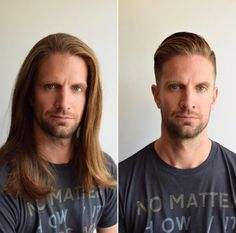 What a difference a friggin' haircut makes.