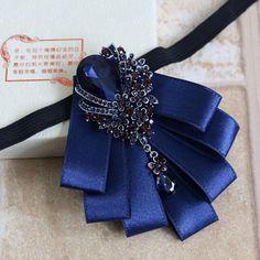 Bow Tie Collar, Bow Ties, Tying Ties, Faux Col, Tuxedo Bow Tie, Women Bow Tie, Tie Crafts, Diy Accessoires, Tie Pattern