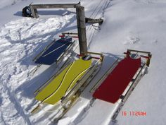 Winter fun with Molson Runner Sleds.  www.molsonrunnersleds.com