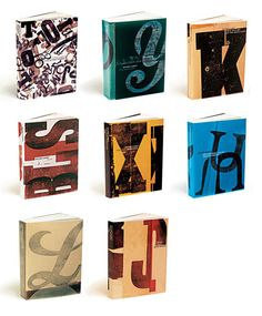Book cover design and illustration by Jenny Grigg; Peter Carey Backlist,   Series of eight gatefold covers  University of Queensland Press, 2001