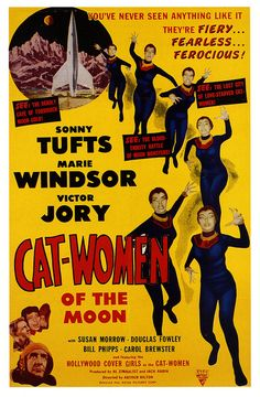 Cat Women of the Moon - See: The Lost City of Love-Starved Cat-Women!