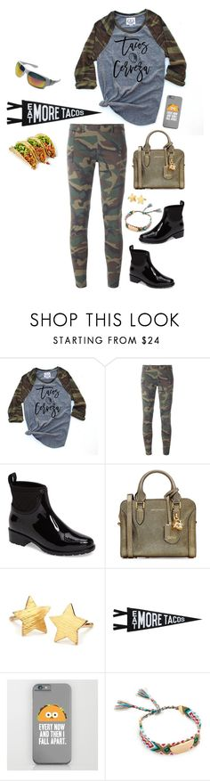 """Taco Wednesday?"" by musicfriend1 ❤ liked on Polyvore featuring Faith Connexion, Däv, Alexander McQueen, Pernille Corydon, Three Potato Four, Rebecca Minkoff and Oakley"