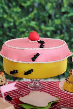 Picnic themed 1st birthday party via @KarasPartyIdeas. Cake, decor, cupcakes, printables, recipes, games, and more! #picnic #picnicparty