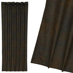 Faux Leather Curtain