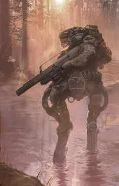 Rex-Armor by Garret Arney-Johnson | Sci-Fi | 2D | CGSociety