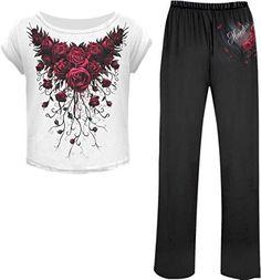 Spiral - Womens - BLOOD ROSE - 4pc Gothic Pyjama Set - L ... https://www.amazon.com/dp/B00TF2HNKO/ref=cm_sw_r_pi_dp_4GJyxbYH1MEK8