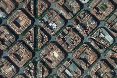 Barcelona, Spain – Earth View from Google