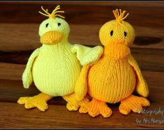 Free knitting pattern for ducks pattern by frankie brown animal dalla the sweet duck cute toy duck for kids and adults handknit to order from eco friendly cotton yarn easter gift by knitographybymumpitz negle Gallery