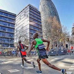 Great shot at the Barcelona Marathon - Follow us and use hashtag #wonderfulrunning to join the movement. PC @marcosphotosport