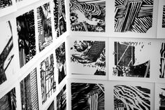 Rob Swainston woodblock print on paper Woodblock Print, Printmaking, Photo Wall, Carving, Paper, Frame, Prints, Inspiration, Decor