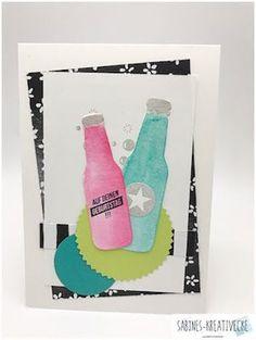 MtS Sketch 211 Cascading Card, Workshop, Stampinup, Pop Bottles, Die Cut Cards, Party, Card Making, Bubbles, Blog