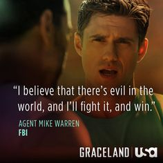 """aaron tveit in new series """"Graceland"""" on USA network"""