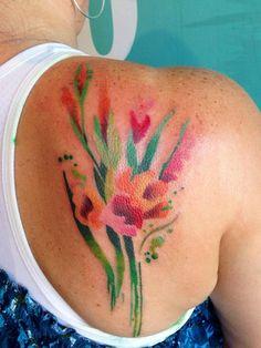 Flores en Acuarelas