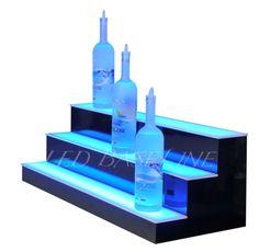 28-034-LED-LIGHTED-BAR-SHELF-Three-Step-Liquor-Bottle-Glorifier-Back-Bar-Shelving