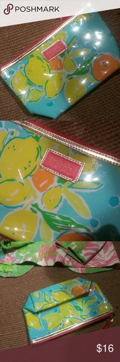 Lilly Pulitzer for Estee Lauder New ,never used makeup  bag 9×5/5 Lilly Pulitzer Bags Cosmetic Bags & Cases