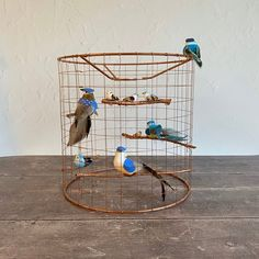 Your place to buy and sell all things handmade Light Shades, Shades Of Blue, Cage Light, Bird Cage, Door Wreaths, Home Gifts, Christmas Wreaths, Copper, Ceiling
