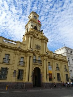 Chile National History Museum at the Plaza de Armas in Santiago de Chile - Global Introvert