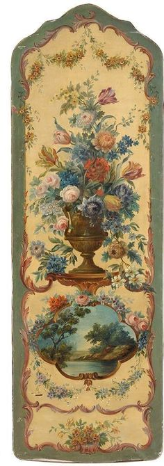 Shabby Vintage, Vintage Flowers, Chinoiserie, Etiquette Vintage, Ideias Diy, Hand Painted Furniture, Arte Floral, Vintage Cards, Vintage Posters