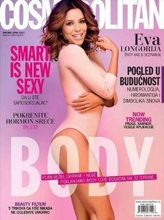 DIARY OF A CLOTHESHORSE: Eva Longoria - Cosmopolitan Magazine Covers Serbia...
