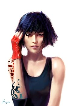 Faith Connors, an underrated, total fucking badass. I've yet to play Mirror's Edge, but I know the story well. Can't wait to get a hold of it!