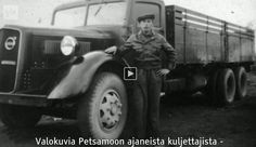 Swedish 1939-40 Volvo - Heavy truck compared to Finnish ones at the time