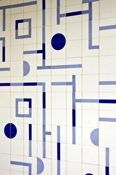 Oscar Niemeyer  pattern tiles