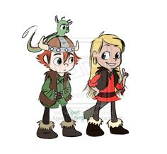Hiccup, Camicazi and Toothless by AgentKelly13.deviantart.com on @deviantART