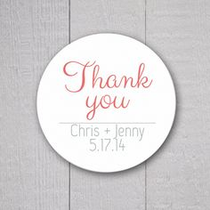 Hey, I found this really awesome Etsy listing at https://www.etsy.com/listing/183445179/thank-you-stickers-wedding-thank-you