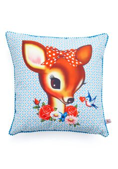 Creature Comfy Pillow                                        http://www.modcloth.com/store/Modcloth/Apartment/Furnish+Decorate/Creature-Comfy-Pillow                                      129 people love this!                    $39.99