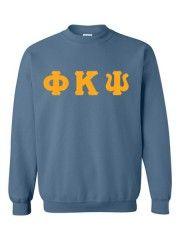 Phi Kappa Psi Crewneck Letters Sweatshirt
