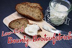 Low-Carb Bounty-Brotaufstrich! Hast du gerade ein fantastisches Low-Carb Brot gebacken, möchtest es aber nicht immer nur mit den üblichen Zutaten belegen, sondern auch mal eine Scheibe mit süßem Aufstrich genießen? Diese himmlisch leckere Creme versüßt dir jede Scheibe Brot.