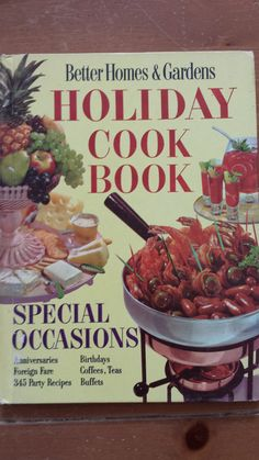 Vintage Better Homes and Gardens Cookbook by MissRedsIcebox, $8.00