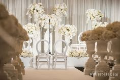 WedLuxe– Michelle & Onofrio | Photography by: Ikonica Follow @WedLuxe for more wedding inspiration!