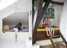 Sleeping Nooks - I want to do this in Jack's room!